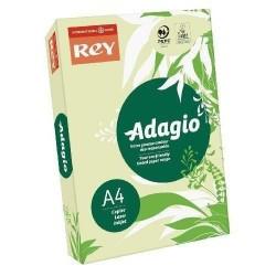 Papier couleur vert - Rey - Adagio - 500 feuilles  A4 - 80g - Copieur, laser, jet encre
