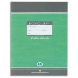 Cahier de brouillon - Hamelin oxford - 17x22cm - 48 pages - seyès (gds carreaux)- papier 56g