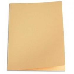 Paquet de 100 chemises - Carte recyclée - 180 g -  coloris crème - 5 ETOILES