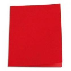 250 Sous-chemises - 60g - 22x31 - Rouge - 5 ETOILES