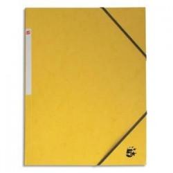 Chemise simple - Carte 390g - Jaune - 5ETOILES