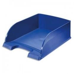 Corbeille courrier - Porte Etiquette - Bleu - (lxhxp) 25,5x10x36 - LEITZ