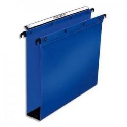 Dossier suspendu pour tiroir - Bleu - Fond 80mm - Polypro. - ELBA