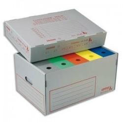Conteneur ignifugé pour archives -54,5x38x27cm - Polypro. - EXTENDOS