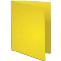 Sous-Chemise 80g - 22x31 - Paquet 100 - Jaune soleil - EXACOMPTA