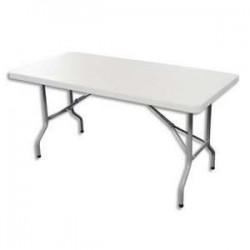 STB TABLE PLIANTE POLYET 182X76 YCZ-183C