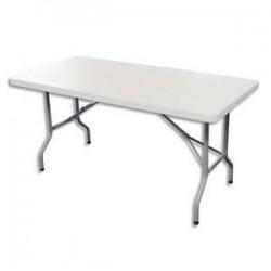 STB TABLE PLIANTE POLYET 182X76 YCZ-183C