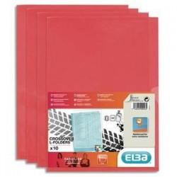 S/10 poch/Coin - FARD'LISS - PVC - Rouge - ELBA