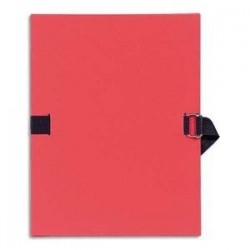 Chemise/Extensible -  A4 - Rouge - EXACOMPTA