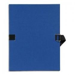 Chemise/Extensible -  A4 - Bleu foncé - EXACOMPTA