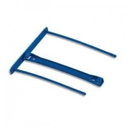 Bte/50 relieurs plast  + Poignée - Bleu - BANKERS BOX