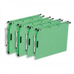 Bte/25 Dossiers susp - Armoire - Fond 15cm - Vert -ELBA