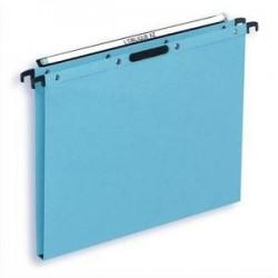 Bte/25 Dossiers susp - Tiroir - Fond 15cm - Bleu -ELBA