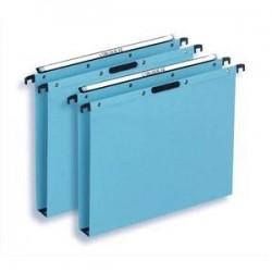 Bte/25 Dossiers susp - Tiroir - Fond 30cm - Bleu -ELBA
