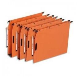 Bte/25 Dossiers susp - Armoire - Fond 30cm - Orange -ELBA