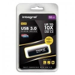 Clé USB 3.0 - 32GO - Noir - INTEGRAL