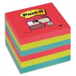"Lot/6 Blocs - STICKY ""Bora Bora - 76x76mm - POST-IT"