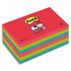 "Lot/6 Blocs - STICKY ""Bora Bora - 76x127m - POST-IT"