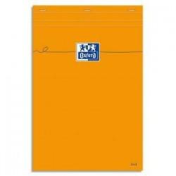 Bloc - Orange - 21X31,8cm - A4+ - 5X5 - 160P -OXFORD