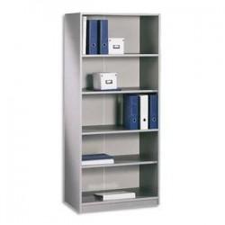 Bibliothèque haute - LxHxP 80x180x42cm - Alu - SIMMOB