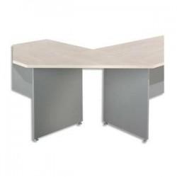 Angle Trapèze/90° - 80x80x112cm - Erable - SIMMOB