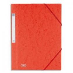 Chemise - 3 Rab - Rouge - Carte  grainée - ELBA