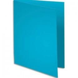 Pqt 100 Chemises - SUPER 250 - 210g - Bleu clair - EXACOMPTA