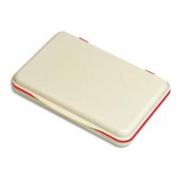 Tampon Encreur - Rouge - 7x11cm -  5 ETOILES