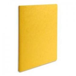Chemise - LUSTRO- Pour A4 - D1,5 à 3,5cm - Jaune - EXACOMPTA