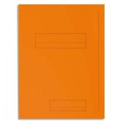 Pq 50 Chem - 2 rabats - SUPER 250 - Orange - EXACOMPTA