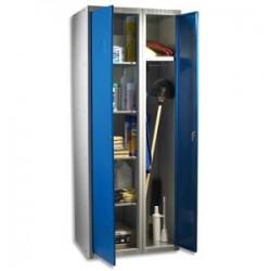 ACIAL Armoire d'entretien métal dimensions 70x180x50 cm