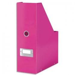 ESSELTE Porte-revues CLICK & STORE - Dimensions : L103xH330xP 253mm - Coloris : Rose Wow