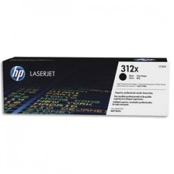 HP Cartouche laser noire HC CF380X