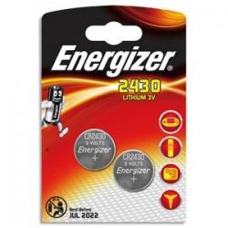 ENERGIZER blister de 2 piles lithium CR2430 FSB2 637991