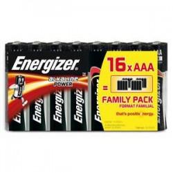 ENERGIZER blister de 16 piles aaa LR03 power 637804