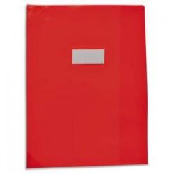 ELBA Protège-cahier School Life 17x22 PVC opaque 14/100°, coins + porte-étiquette. 4 coloris assortis