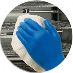 KIMBERLY Boîte 200 Gants Kleenguard actic Bleu nitrile taille L