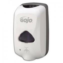 GOJO Distributeur automatique de savon mousse TFX - Dimensions : L15 x H26 x P9,5 cm blanc