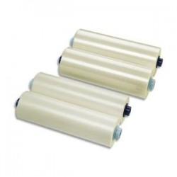 GBC Lot de 2 Rouleaux de film brillant 125 microns par face soit 250 microns 305mmx60m 3400931EZ