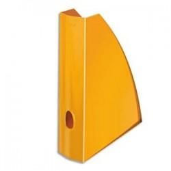 LEITZ Porte revues - WOW orange métallisé - H31,2 x P25,8 cm - Dos 7,5 cm