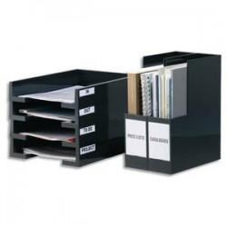 DURABLE Sachet de 10 porte-étiquettes adhésifs Pocketfix format 65x105mm polypropylène 8019-19