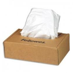 FELLOWES Boîte de 50 sacs pour destructeurs 94 litres - Séries 90/99/325/AutoMax 300C et 500C - 36056