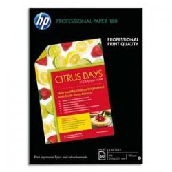 HP Pack de 50 Papier photo professionnel jet d'encre brillant 180g A4 C6818A