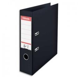 ESSELTE Classeur à levier N°1 POWER en polypropylène, dos 75mm, coloris noir