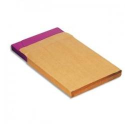 LA COURONNE Boîte de 250 pochettes kraft armé auto-adhésif 130 grammes format 229 x 324 C4