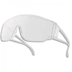 DELTA PLUS Lunette visiteur Piton2 monobloc en polycarbonate incolore - UV400 anti-rayures