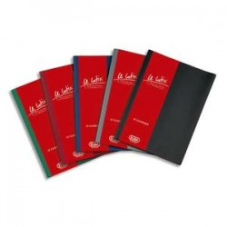 ELBA Protège-documents 60 vues noir Le Lutin , couverture PVC 34/100e, pochettes PVC 5,5/100e