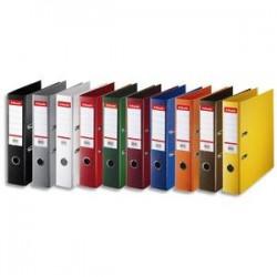 ESSELTE Classeur à levier Esselte Standard en polypropylène, dos 50 mm, coloris assortis standard
