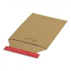 COLOMPAC Pochette d'expédition en carton brun A3, format 31 x 44,5 cm, hauteur jusque 3 cm