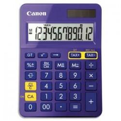 CANON Calculatrice de bureau 12 chiffres LS-123K-MPP Violette 9490B014